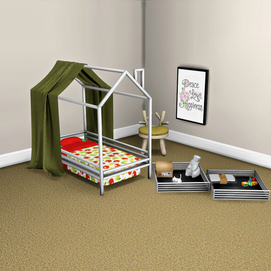 - Toddler Bed And Canopy – Leosims.com -New